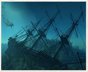348x283 Sunken Ship Dailyoddsandends