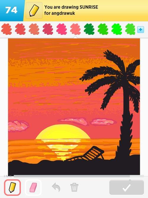 500x667 Sunrise Drawings