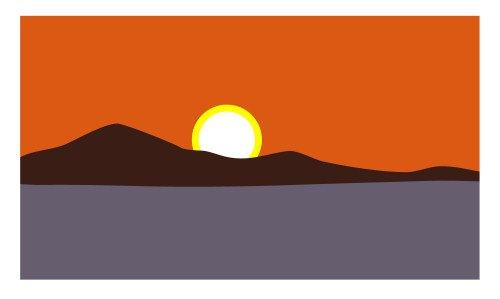 500x299 Drawing A Cartoon Sunrise