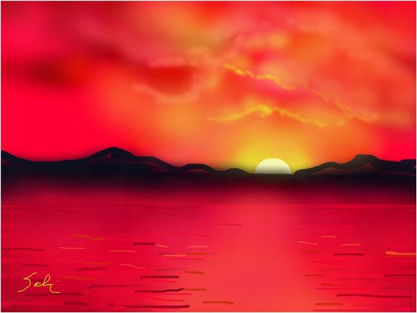602x452 Misty Sunrise In Hawaii