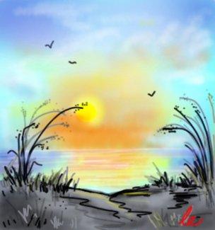 304x325 Sunrise Drawings