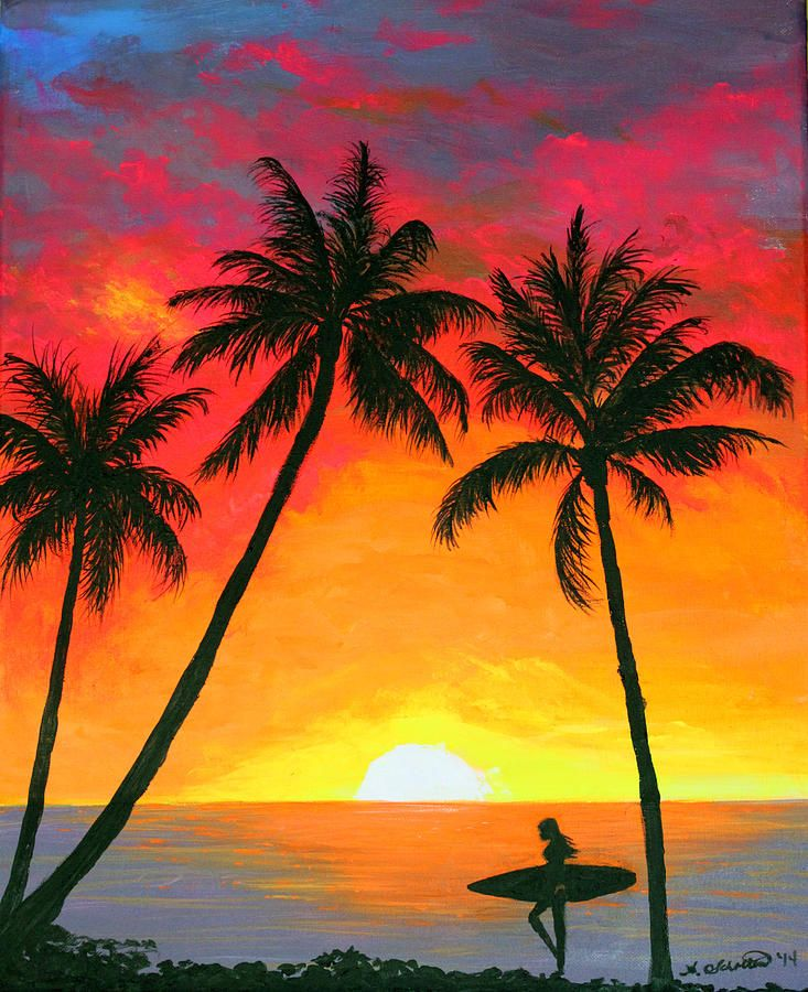 733x900 Gallery Easy Sunset Drawings,