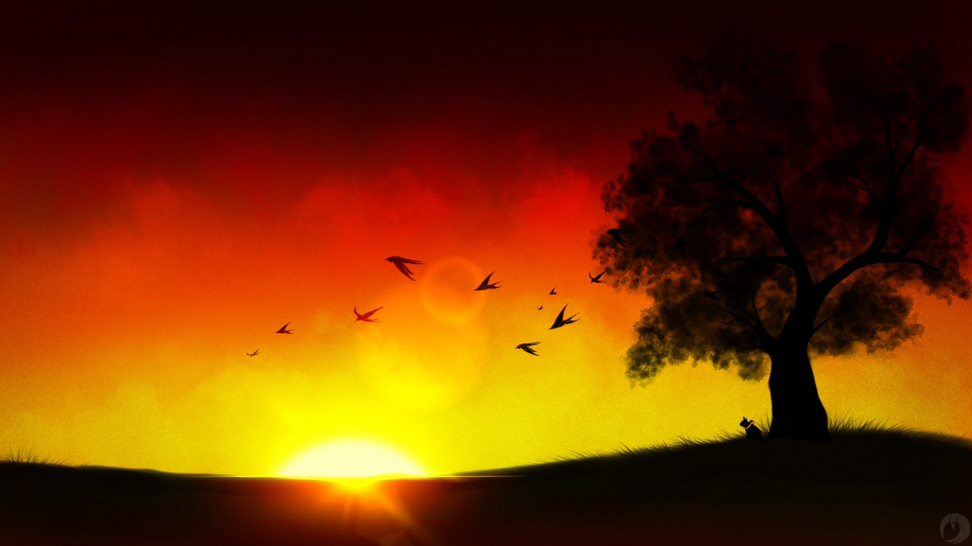 Sunsets With Colored Pencils Drawing At Getdrawings Com