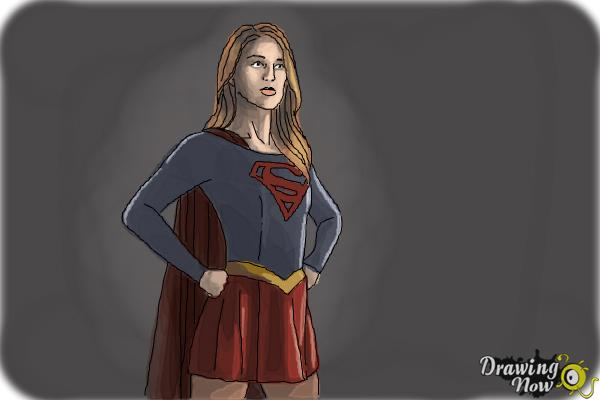 600x400 How To Draw Supergirl 2015