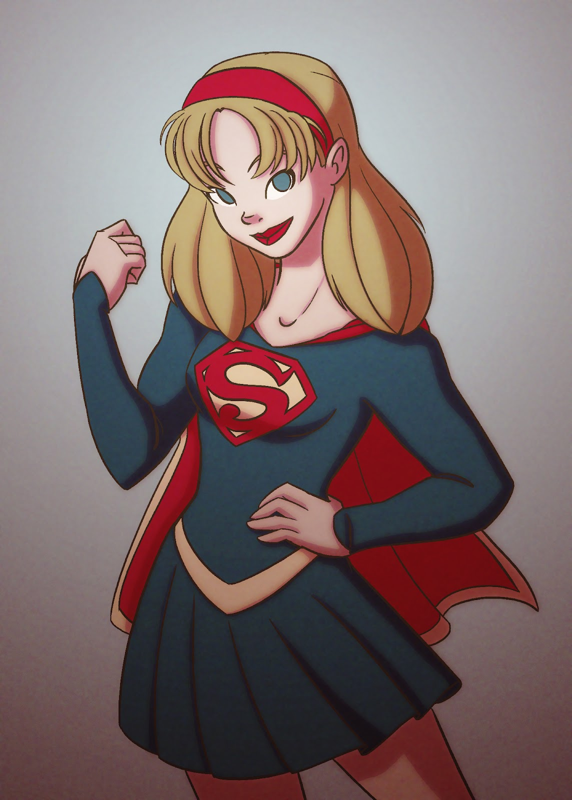 1143x1600 The Dreamry Daily Drawing Supergirl