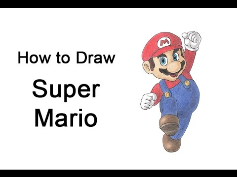 480x360 How To Draw Super Mario (Full Body)
