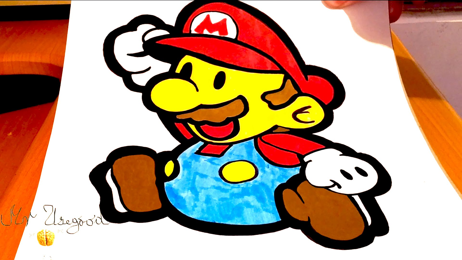 1920x1080 How To Draw Super Mario Easy