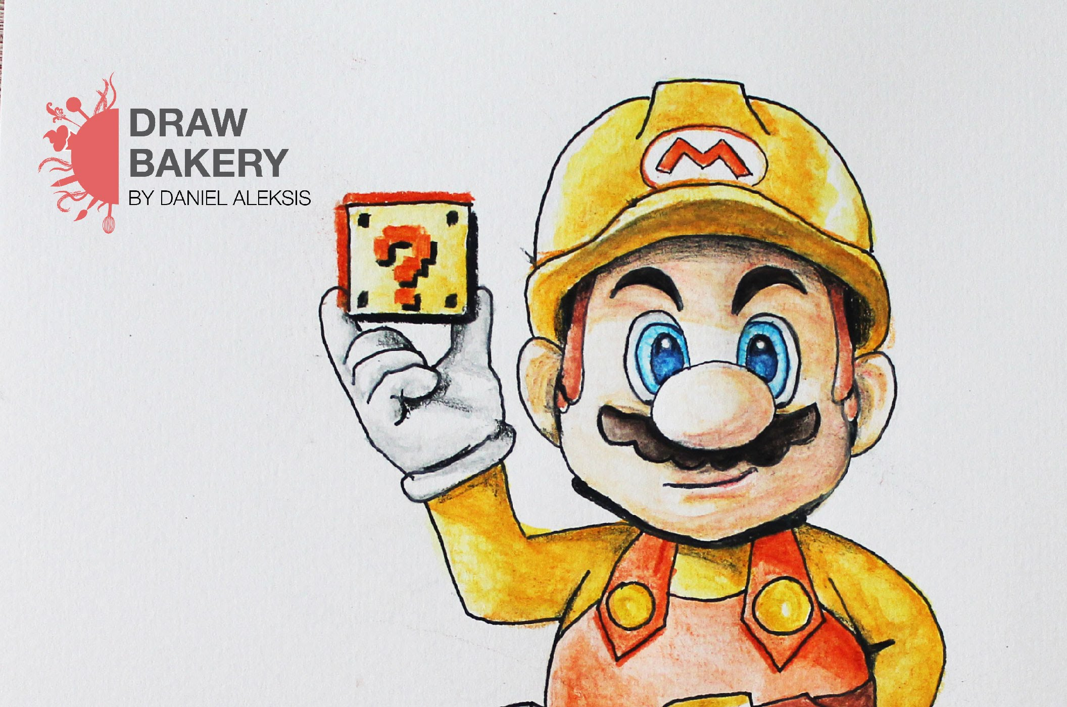 2112x1400 Speed Drawing Super Mario Maker