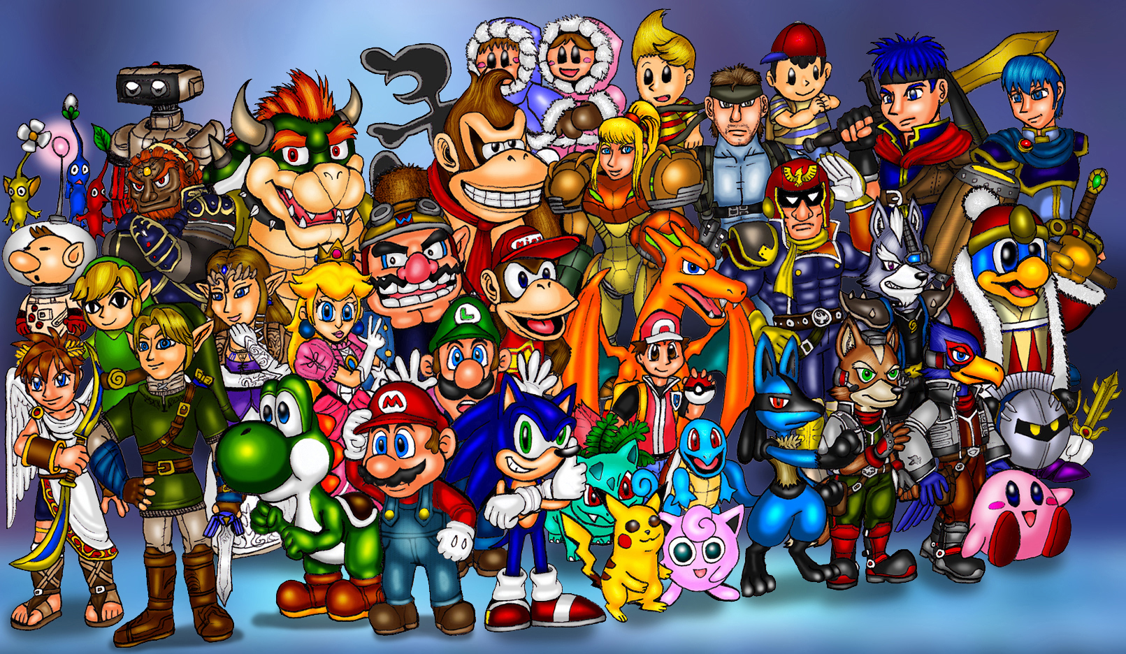 1611x936 Vixdojo Fanart Super Smash Bros