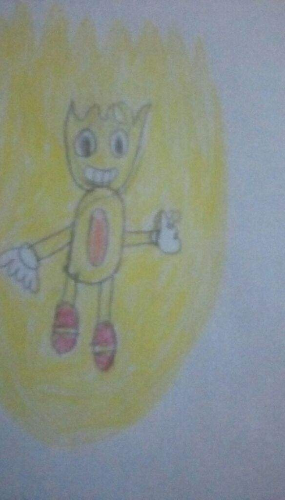 584x1024 Classic Super Sonic Drawing For Mania Sonic The Hedgehog! Amino