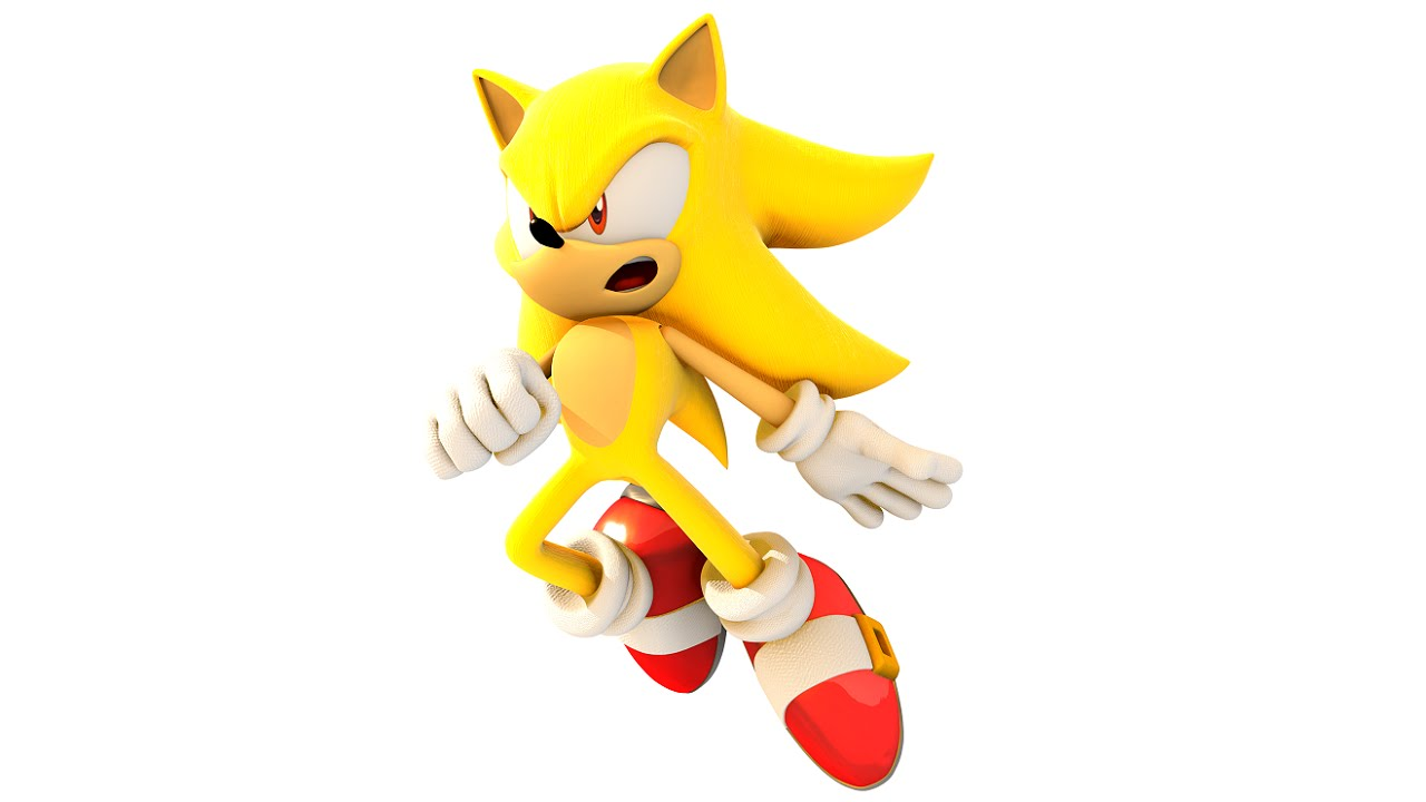 1280x720 How To Draw Super Sonic The Hedgehog
