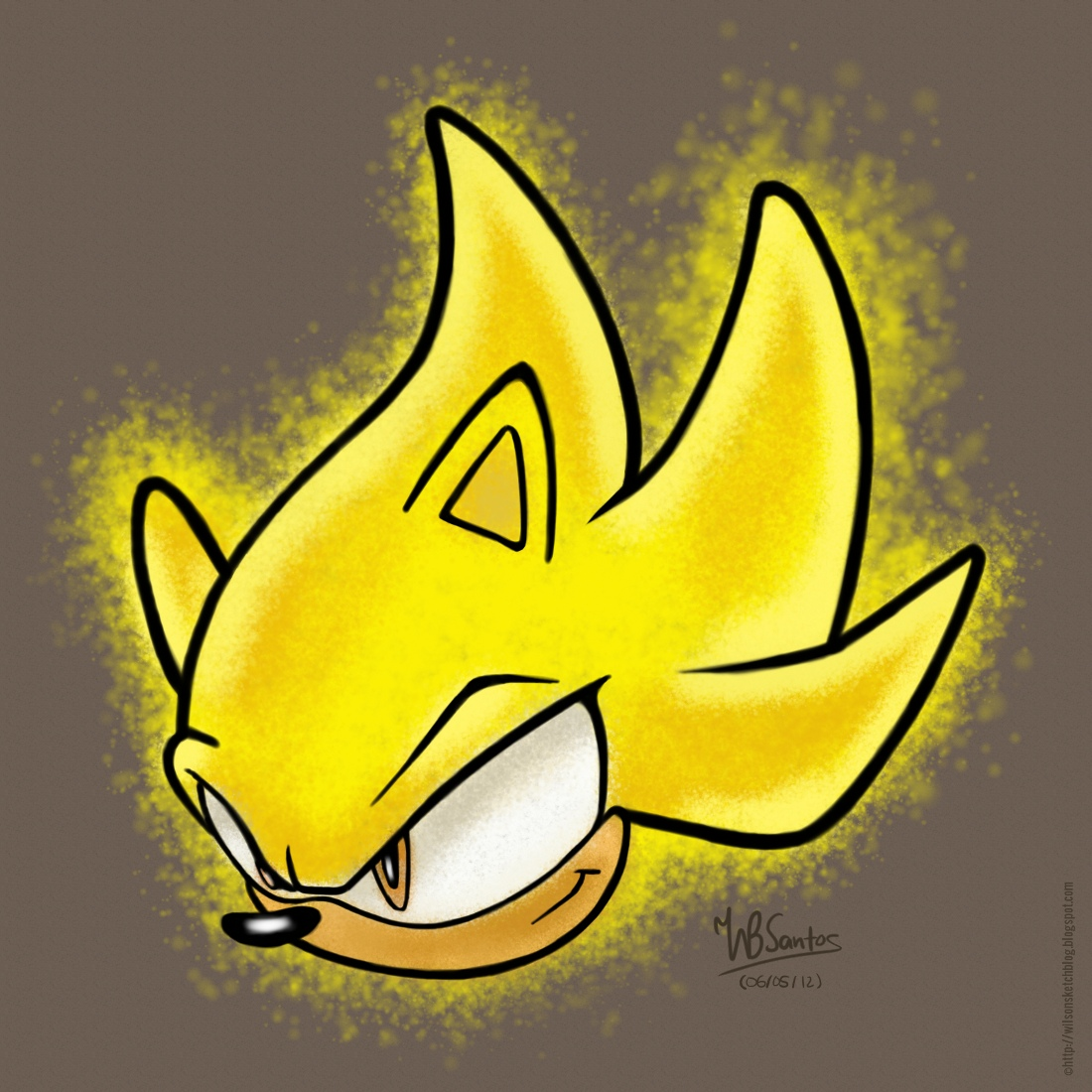1100x1100 Super Sonic