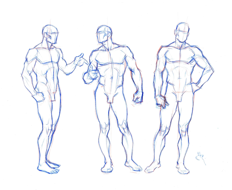 Superhero Drawing Template At Getdrawings Com Free For