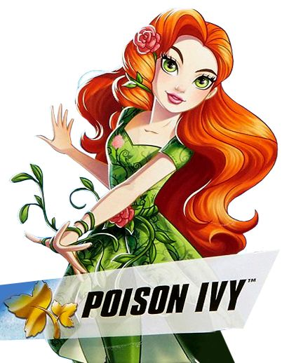 412x518 Dc Super Hero Girls Poison Ivy Superheroes Dc