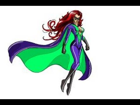 480x360 How To Draw Female Superheroes