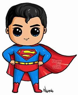 267x324 Superman Artdrawings Kawaii, Drawings And Cartoon