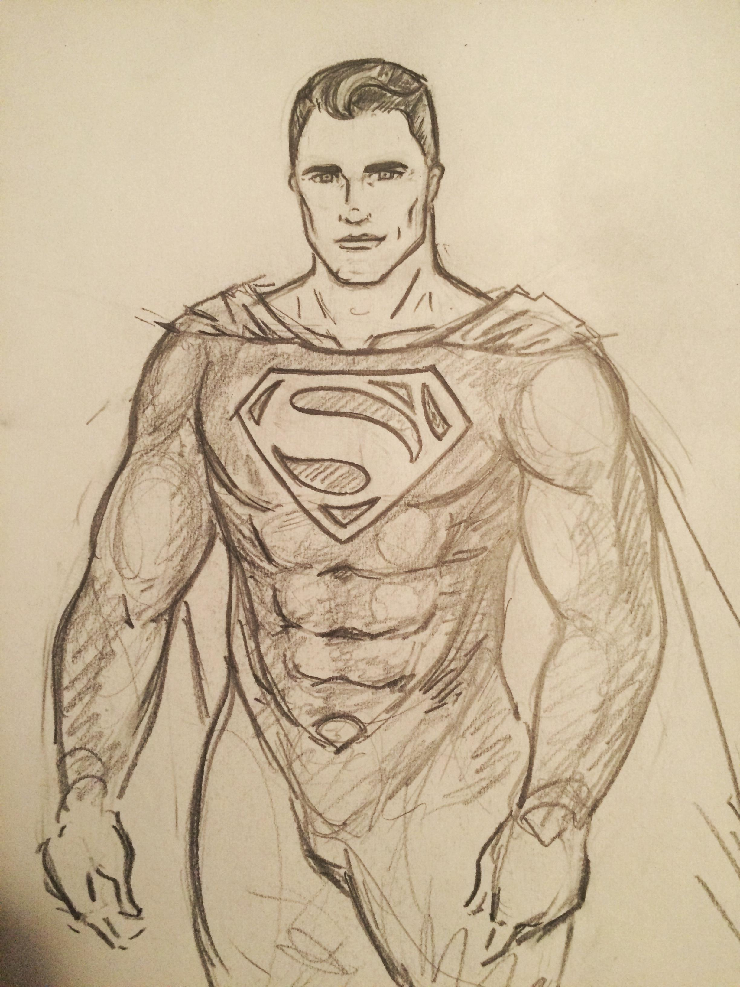 2448x3264 My Superman Drawing. What Do You Think Superman