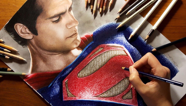 1500x858 Speed Drawing Superman