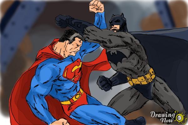 600x400 How To Draw Batman Vs Superman