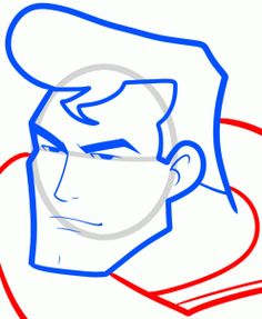 236x287 How To Draw Superman With Easy Step By Step Drawing Tutorial