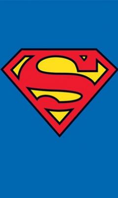 240x400 Download Superman Logo 56964 Logos Mobile Wallpapers