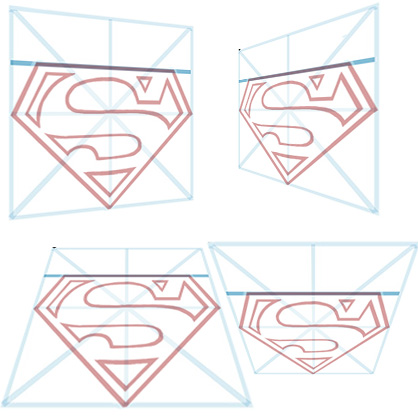 418x419 How To Draw Superman S