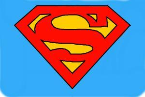 300x200 How To Draw Superman Logo