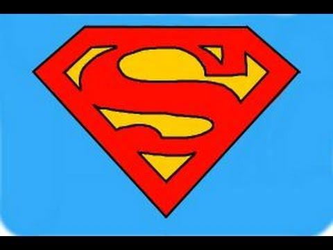 480x360 How To Draw Superman Logo
