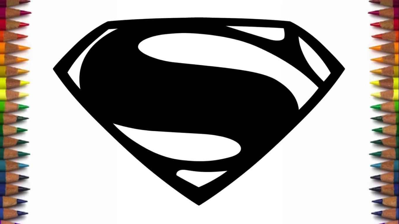 1366x768 How To Draw New Batman And Superman Logos From Batman V Superman