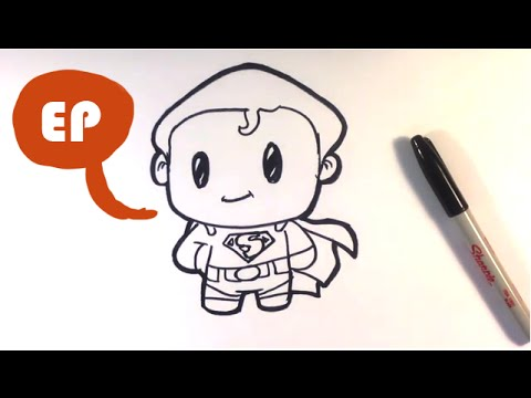 480x360 How To Draw Cute Superman