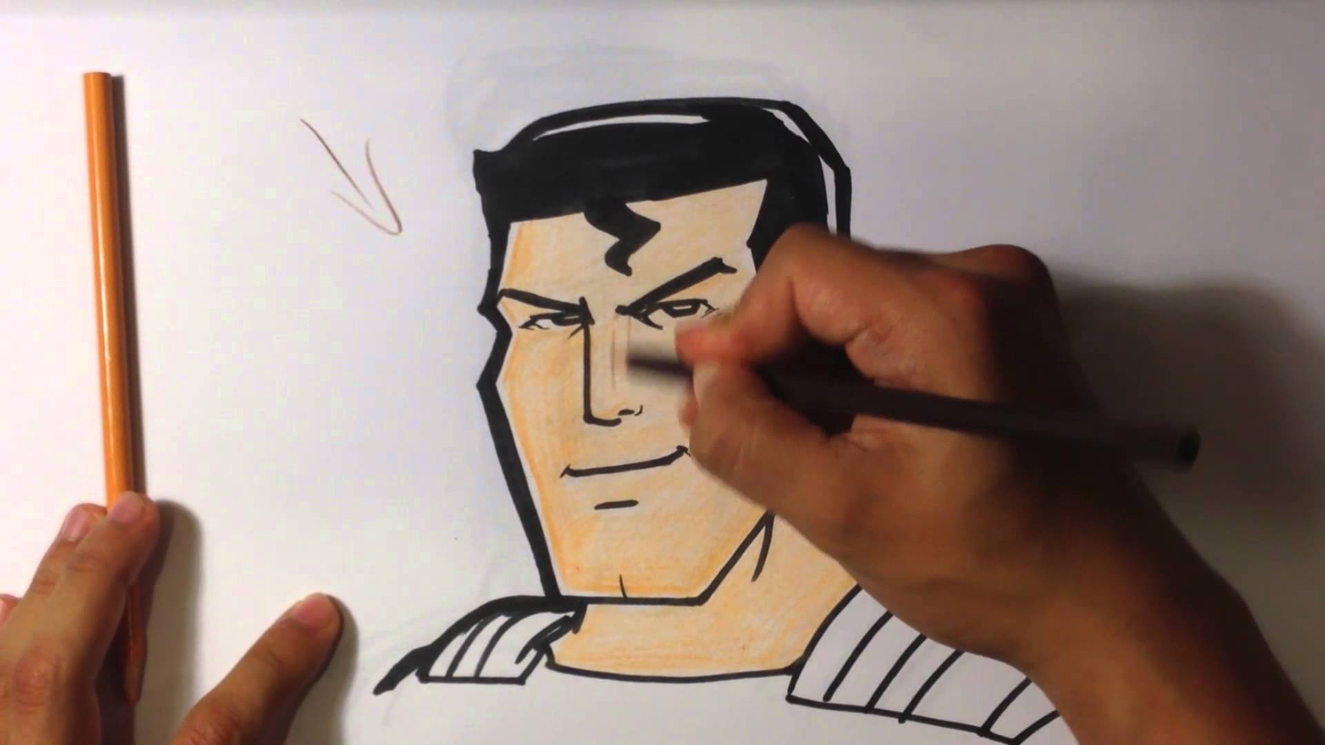 1920x1080 How To Draw Superman