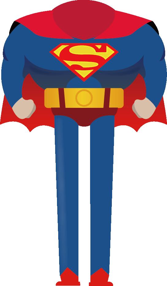 545x931 Superman Cartoon Animation Drawing