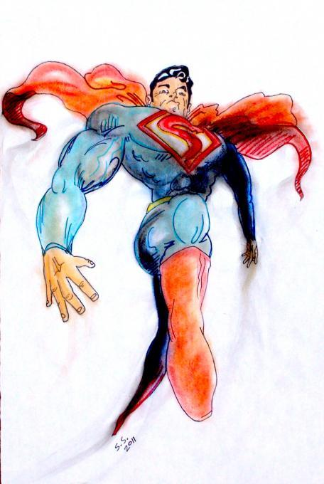 456x680 Superman. Fairy Tale Characters. Drawings. Pictures. Drawings