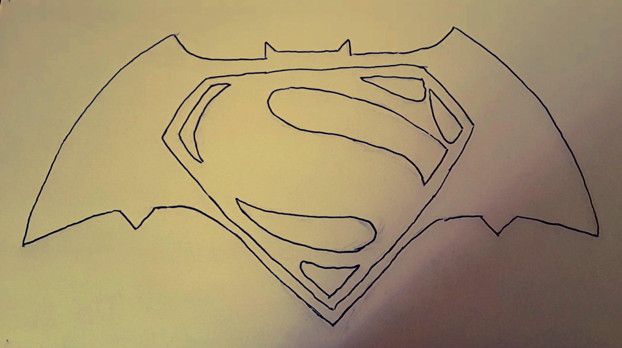 2047x1147 How To Draw Batman Vs Superman Logo
