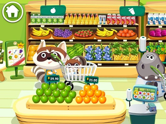 530x398 Dr. Panda's Supermarket Best Kids Apps Android Ipad Iphone