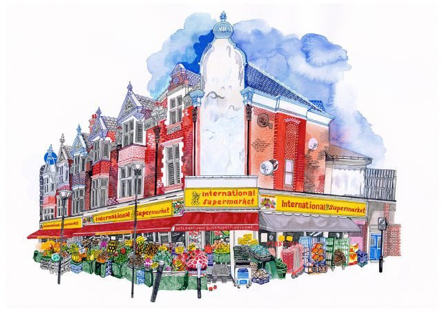 640x452 International Supermarket, E17 Hennie Haworth