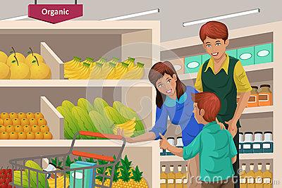 400x267 Supermarket Drawing