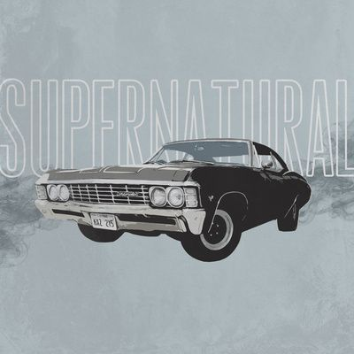 400x400 1967 Chevrolet Impala (Drawing) By