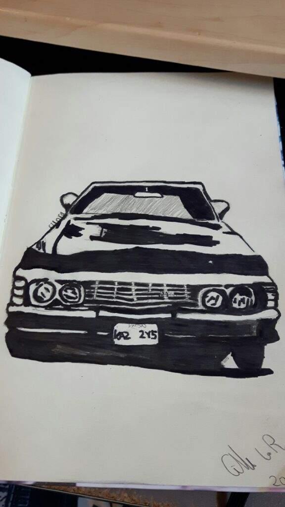 576x1024 67 Chevy Impala Art Supernatural Amino