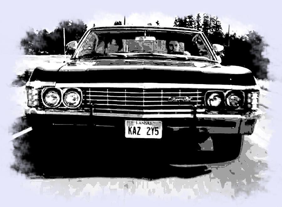 900x660 Black And White Impala