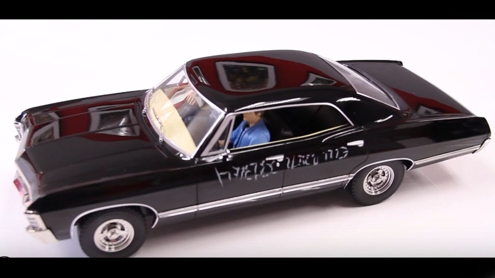970x545 Supernatural's Impala Gets A Diecast Replica Complete With Sam