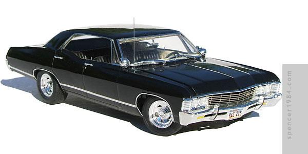 600x300 Supernatural 1967 Chevrolet Impala Metallicar