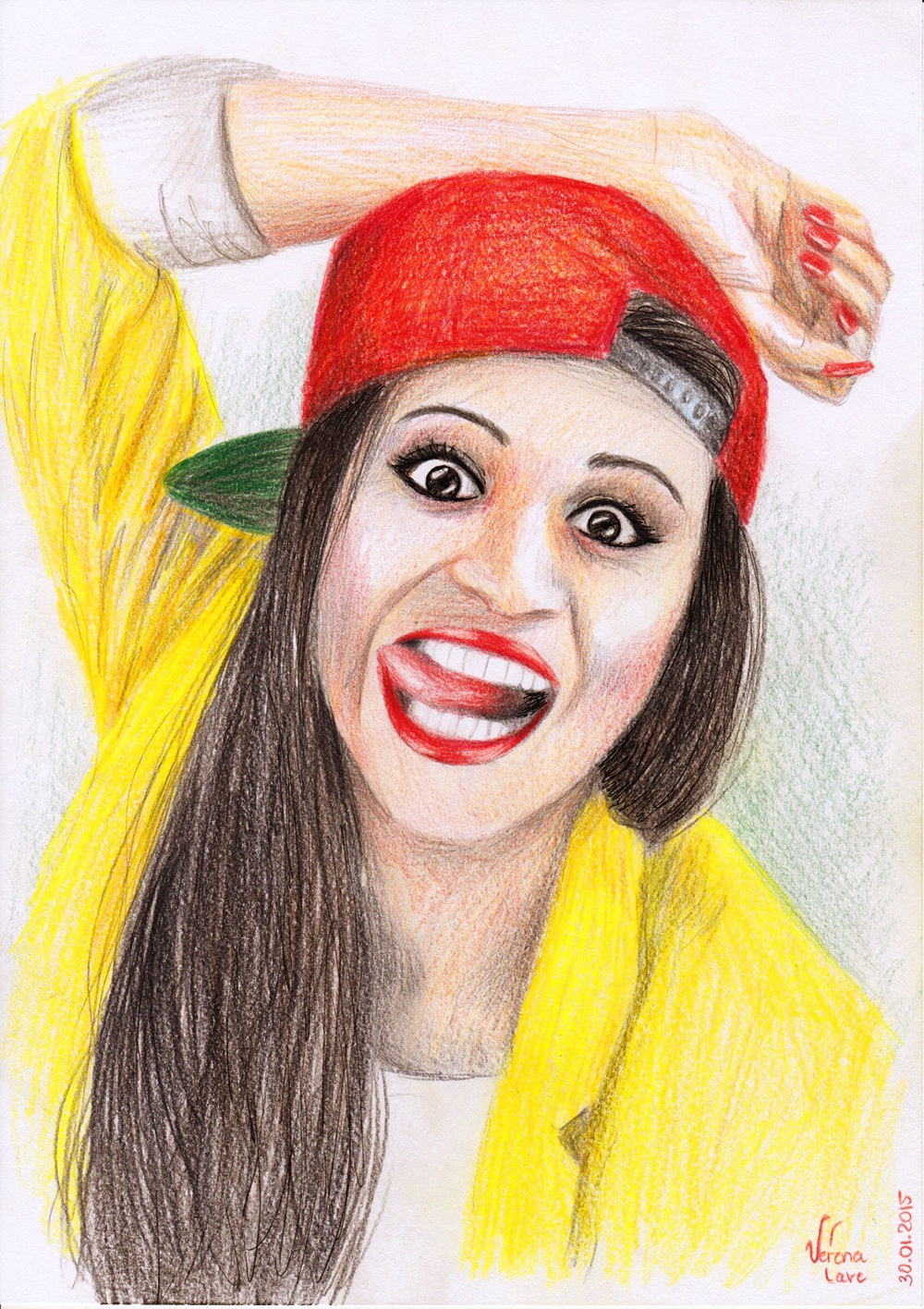 1000x1416 Lilly Singh Superwoman!!! Verena Cave