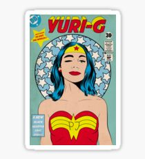 210x230 Superwoman Drawing Stickers Redbubble