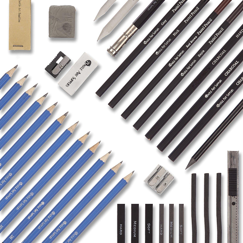 1500x1500 Castle Art Supplies Graphite Drawing Pencils