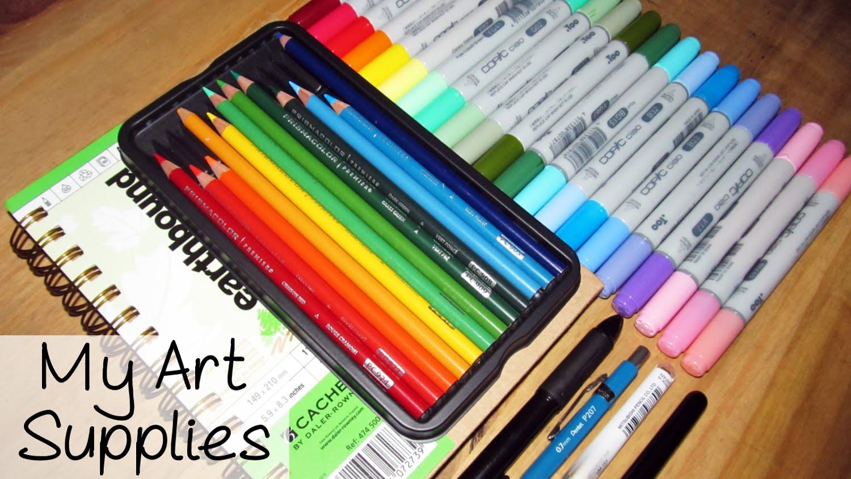 1500x844 My Art Supplies