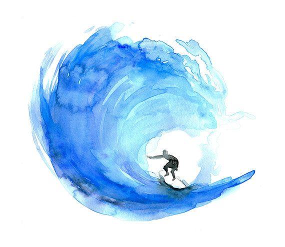 570x494 Best Surf Art Ideas