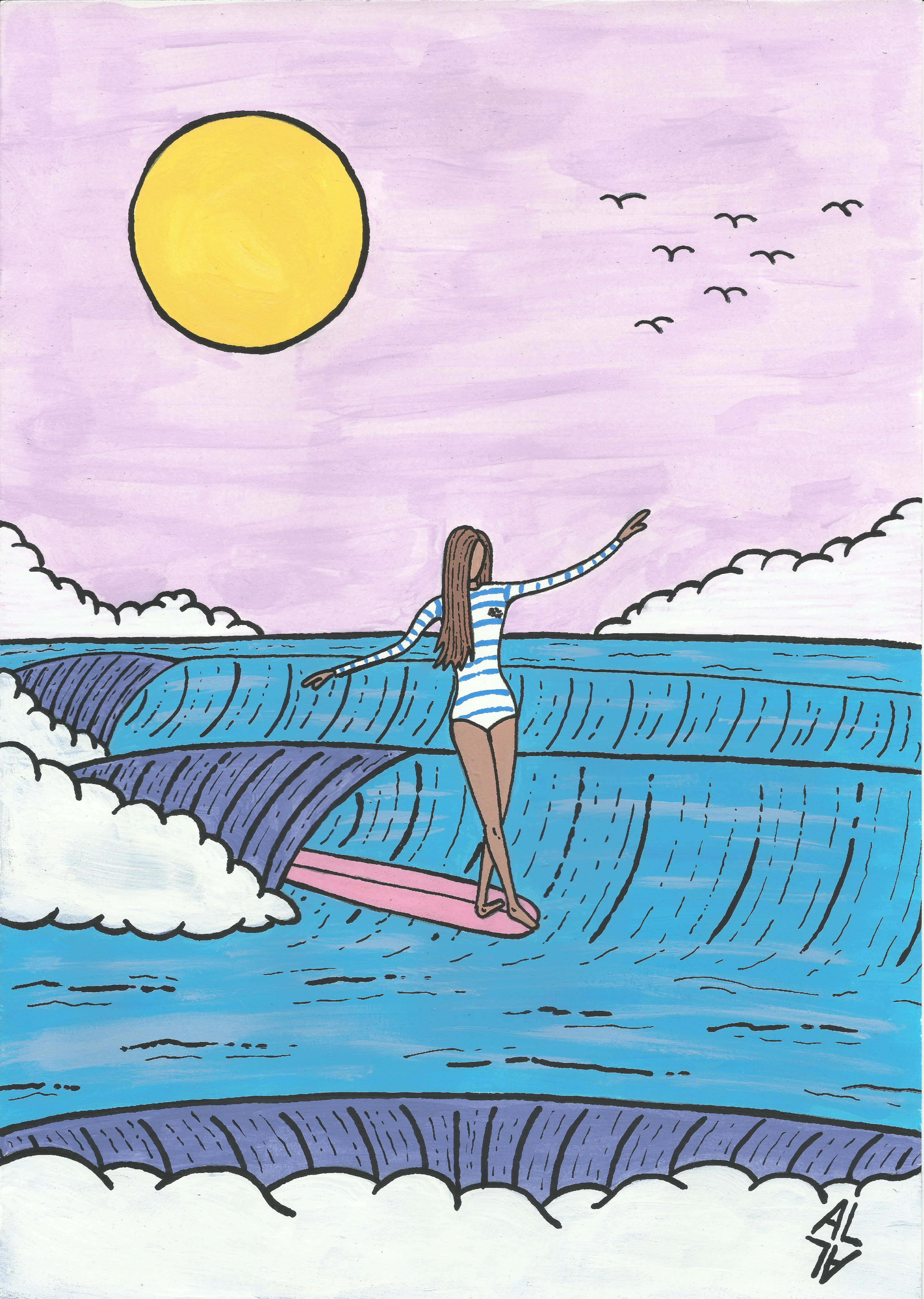 3477x4886 Best Surf Gadgets For 2017 Surf, Illustrations And Girls