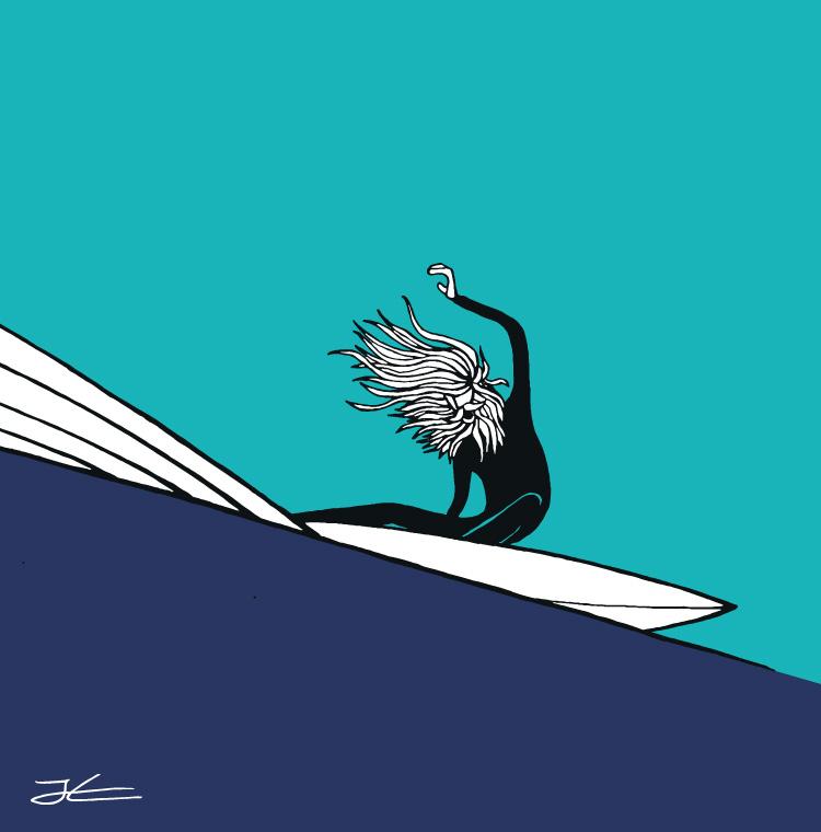 750x760 Surf Drawing Jonas Claesson