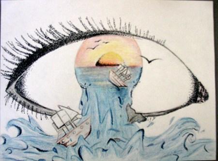 450x332 Surreal Eye Art Style Surrealism Eye, Surrealism